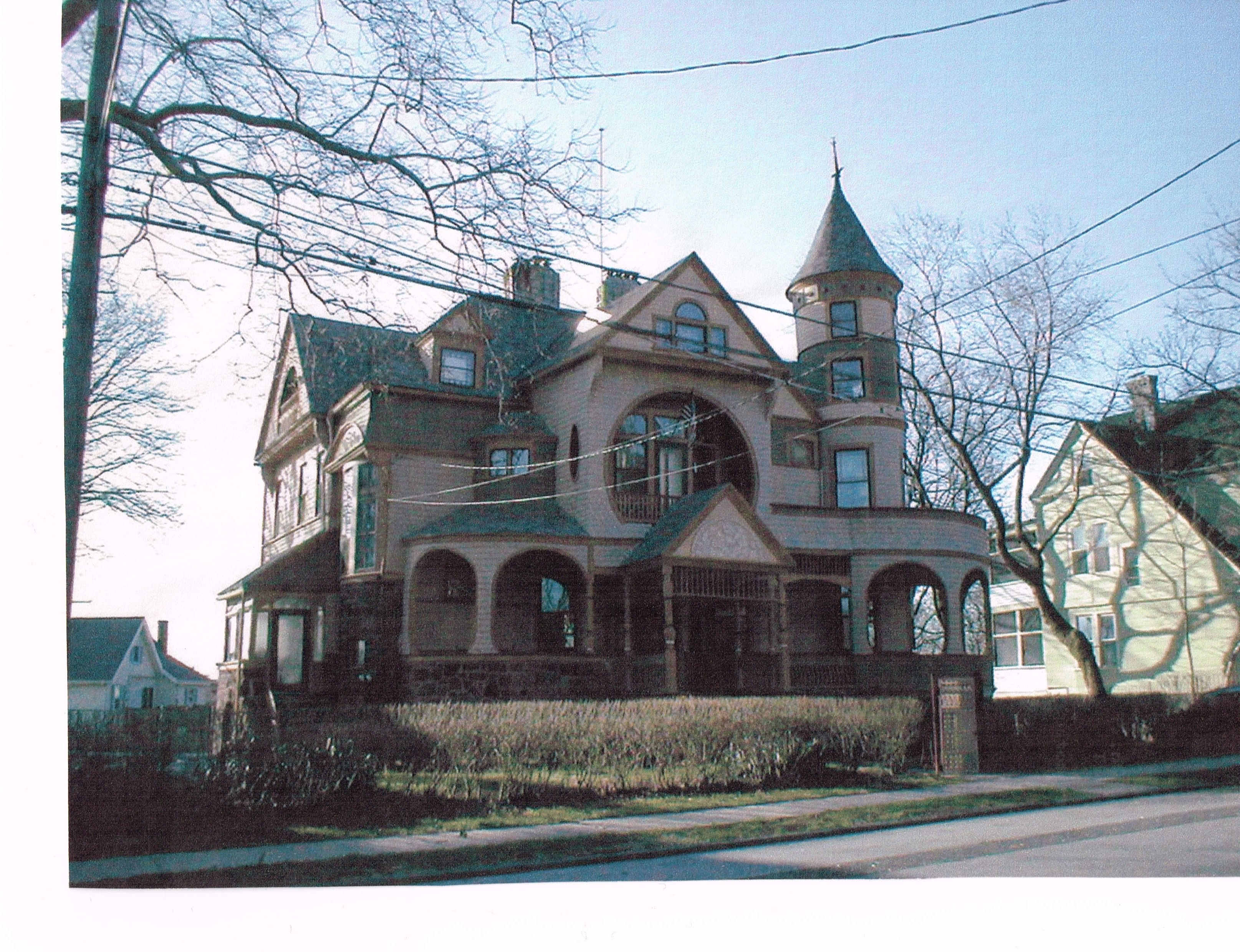 Queen Anne Exterior Color Design